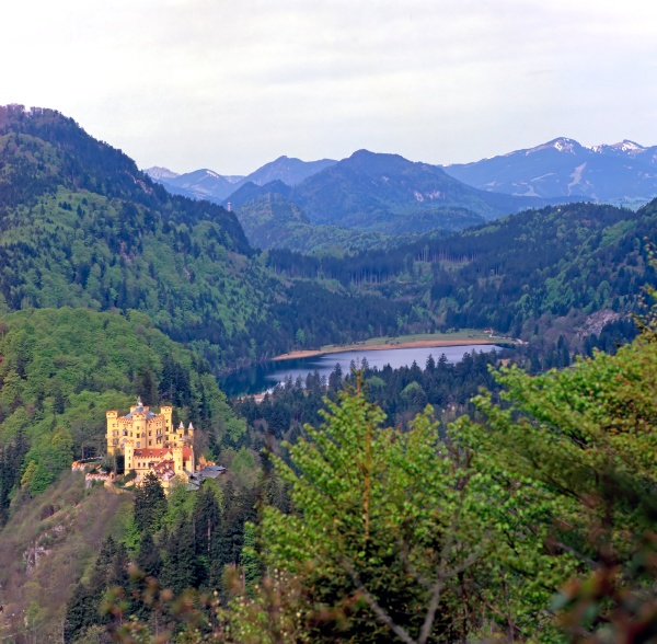 castle hohenschwangau germany