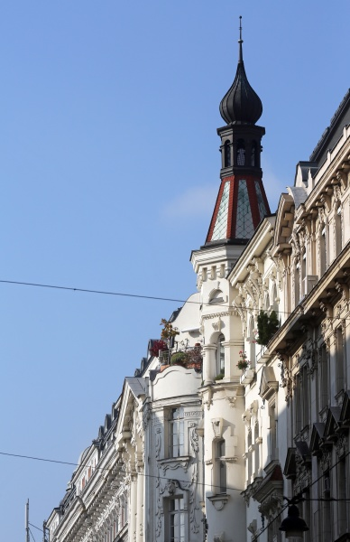 viennese classical style building in