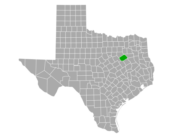 map of navarro in texas