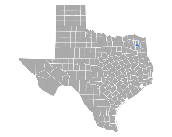 map of camp in texas