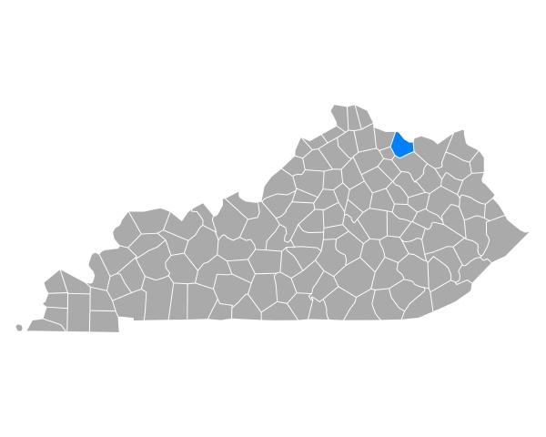 map of mason in kentucky