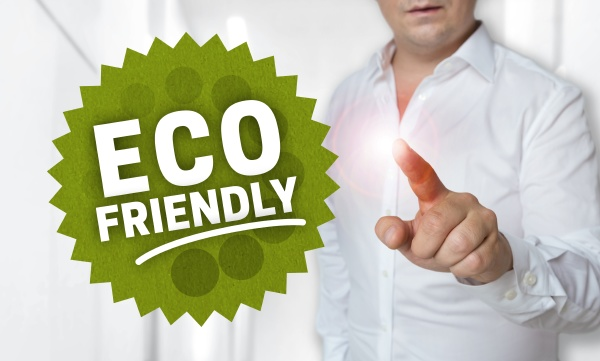 eco friendly concept is shown by