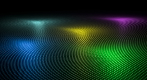 carbon fiber textured background with lights
