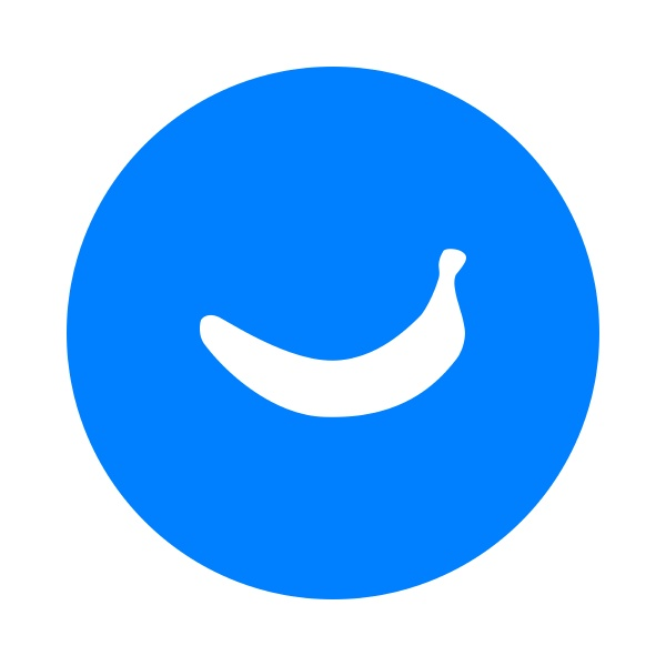 banana and circle