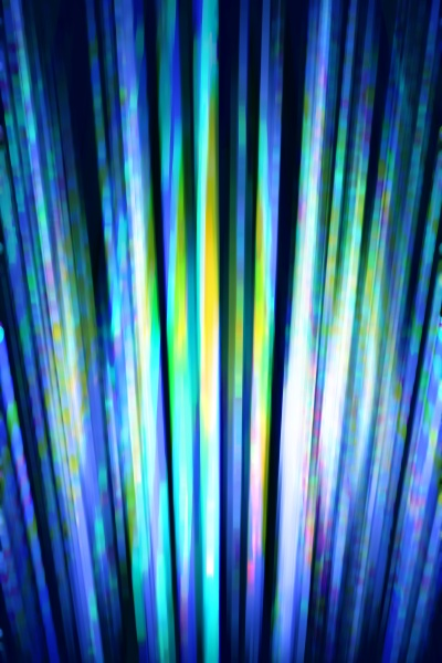 blurred light streaks background