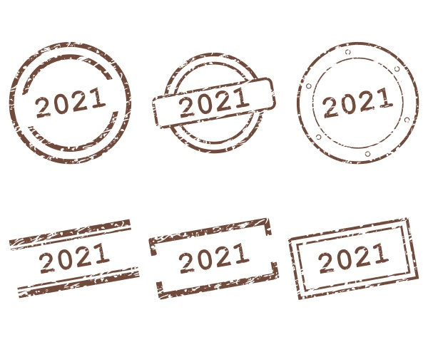 2021 stamps