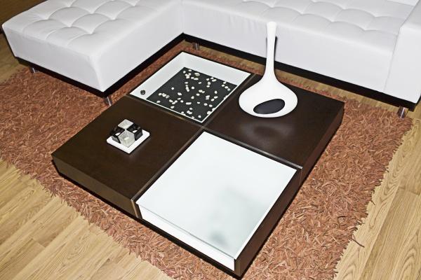 interiors of a living room