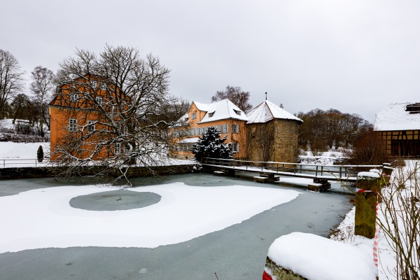 the castle of willershausen in hesse