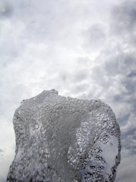 bubbling water refreshing wet liquid
