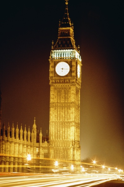 spectacular view of big ben with