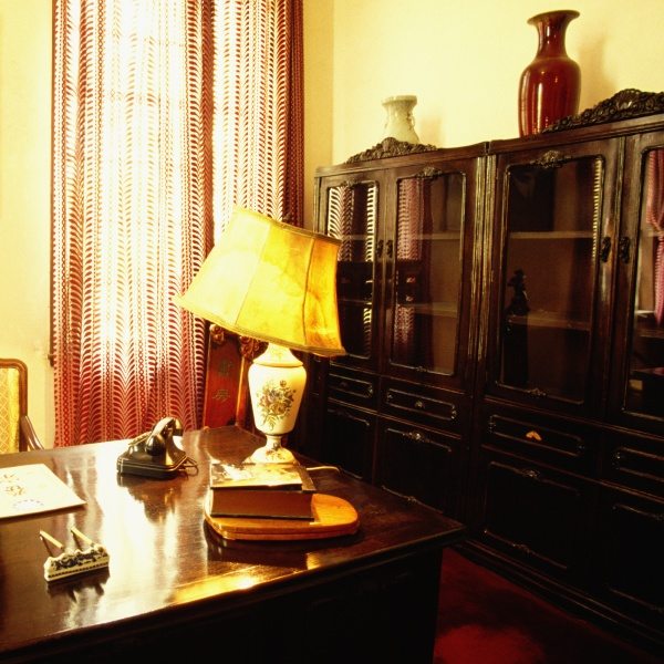 interiors of an office chiang kai