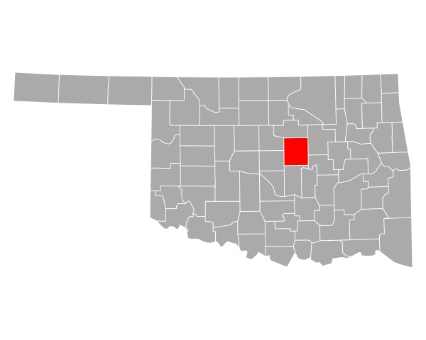 map of lincoln in oklahoma