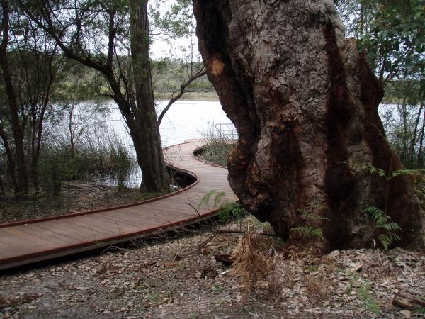 a pedestrian bridge or footbridge