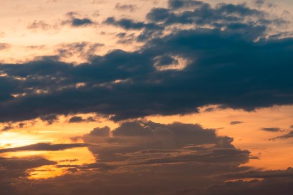 sunset sky heaven sky orange sky