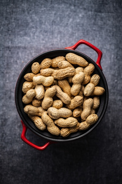 roasted peanuts tasty groundnuts in