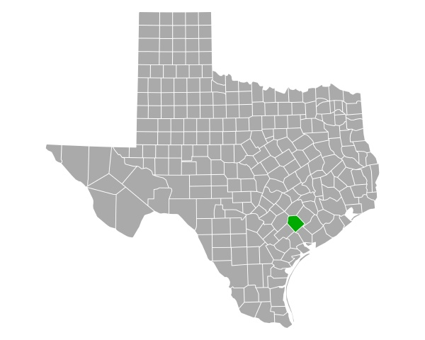 map of lavaca in texas