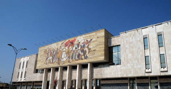 exterior of national history museum near