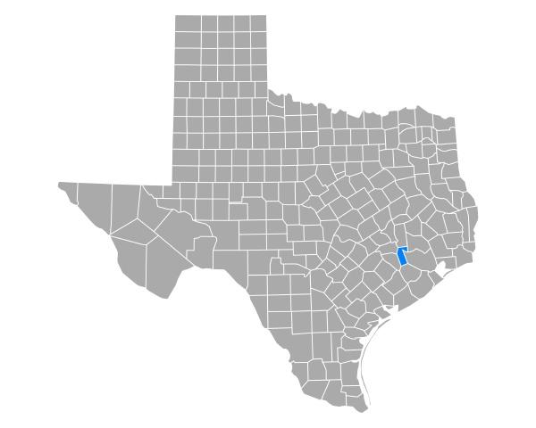 map of waller in texas
