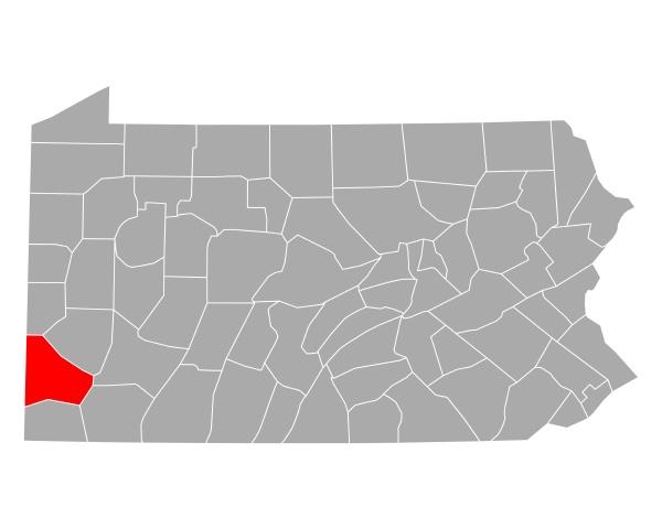 map of washington in pennsylvania