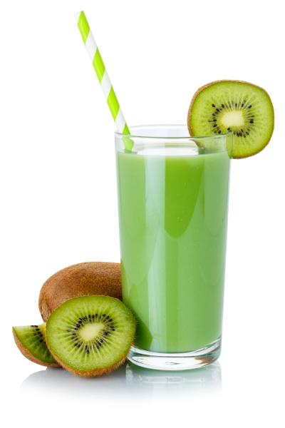 green smoothie fruit juice drink straw