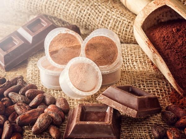 capsules of chocolate