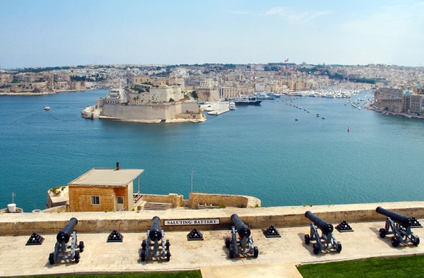 the grand harbour of valletta and