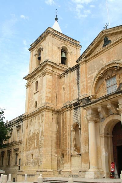 st johns cathedral in valletta malta