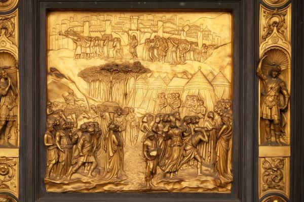 baptistry of saint john gates of