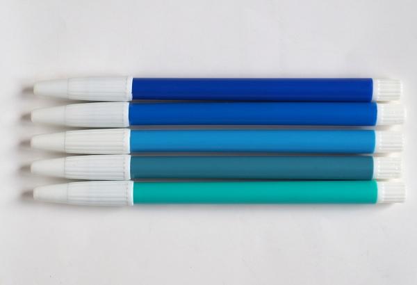 blue felt tip pen