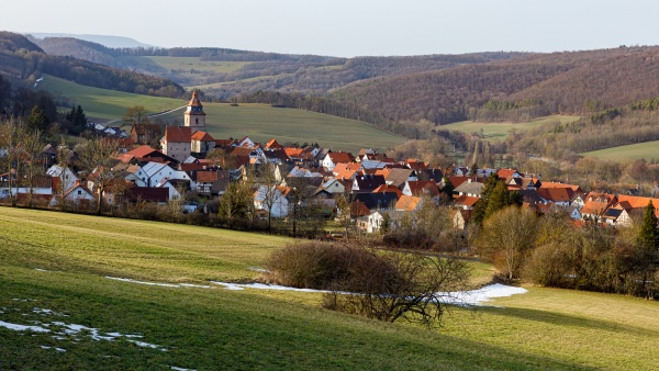 the village of roehrda in hesse