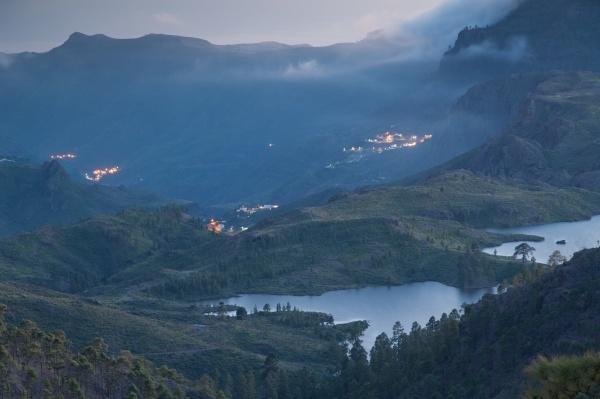 las ninas reservoir in the nublo