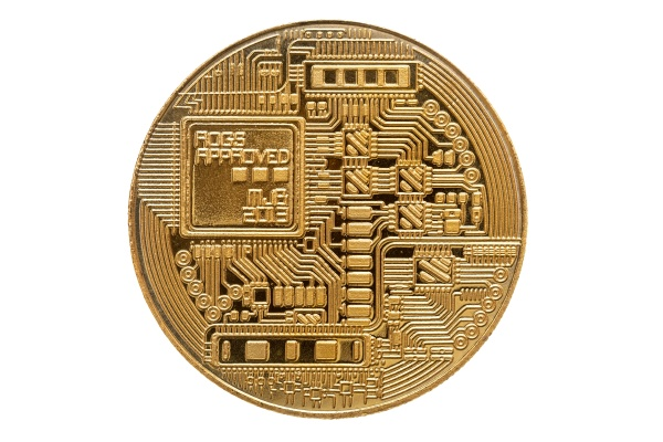 back side of physical bitcoin
