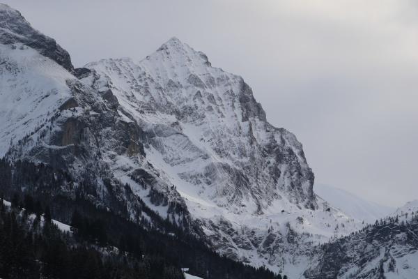 mount arpelistock and sanetsch mountain pass