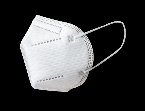 medical face mask isolated