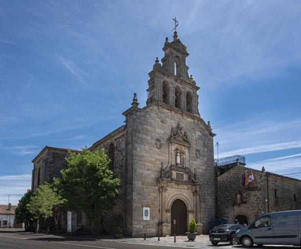 church in alcanices spain