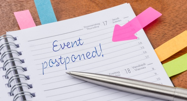 daily planner with the entry event