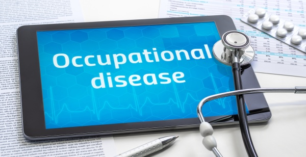 the word occupational disease on the