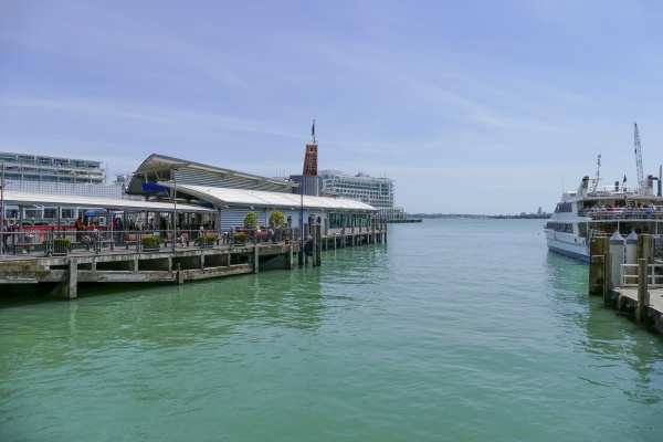 queens wharf in auckland