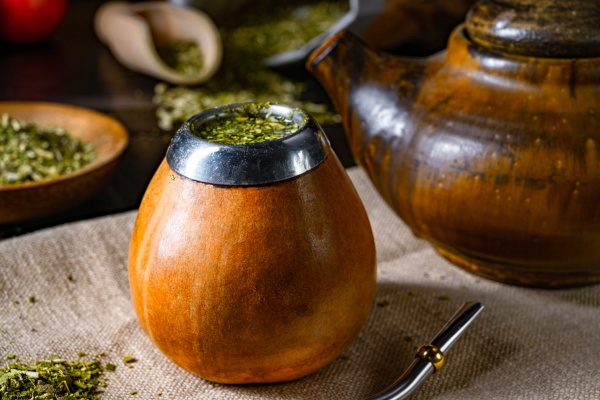 prepare yerba mate with calabash and