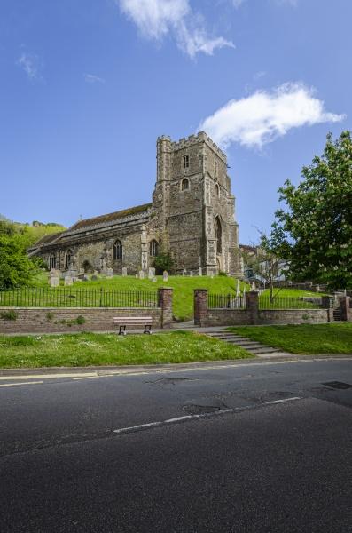 all saints church hastings uk