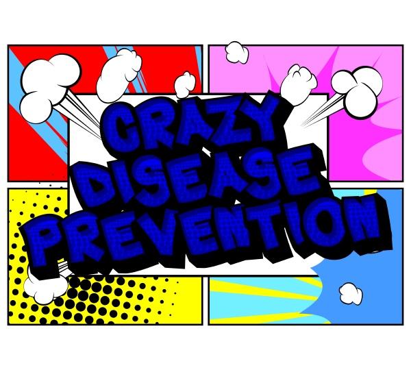 crazy disease prevention comic