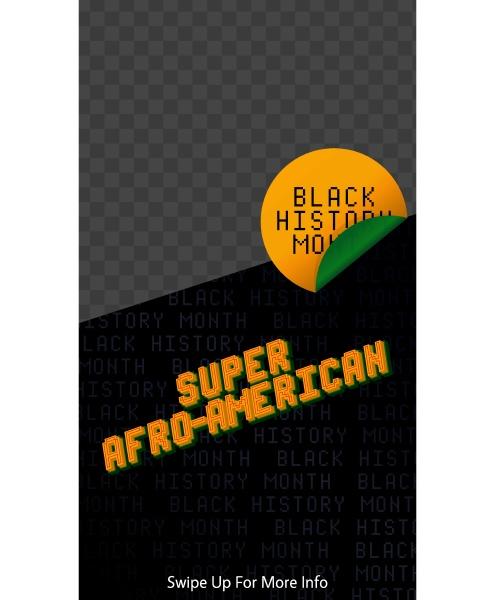 super afro american black history