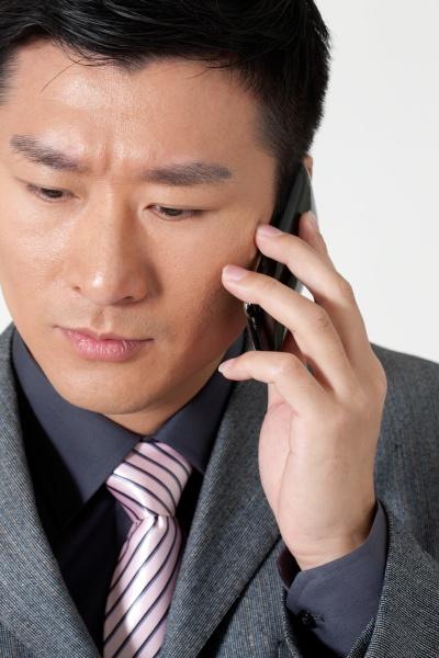 oriental figures alone call success mobile