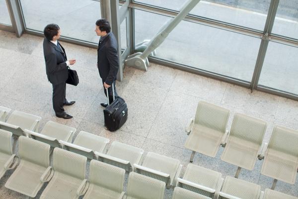 railway station professional attire staff manager