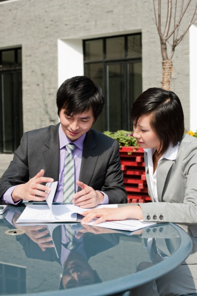 confidence business work outdoors white collar