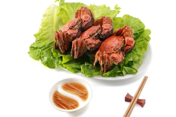 hairy crabs yangcheng lake tableware food