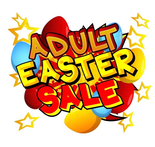 adult easter sale comic