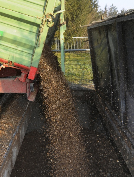 the transport of biomass fuel