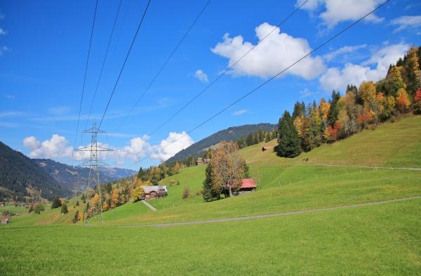 autumn, landscape, near, gstaad, , swiss - 29787526