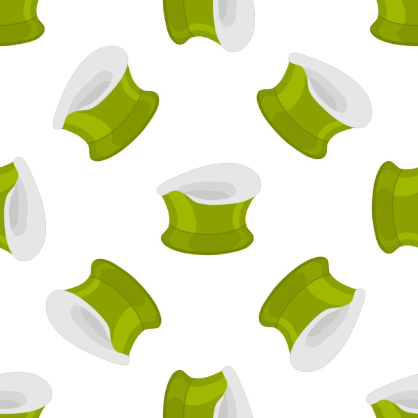 abstract seamless plastic baby pots with